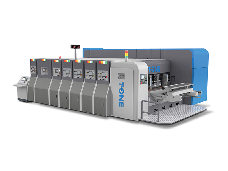 T-GC High Speed Flexo Printer Slotter Rotary Die-Cutter & Stacker (Top-printing, Vacuum Transfer)